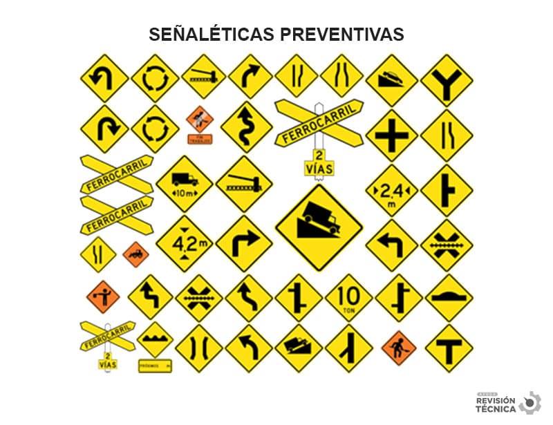 señaleticas preventivas chile