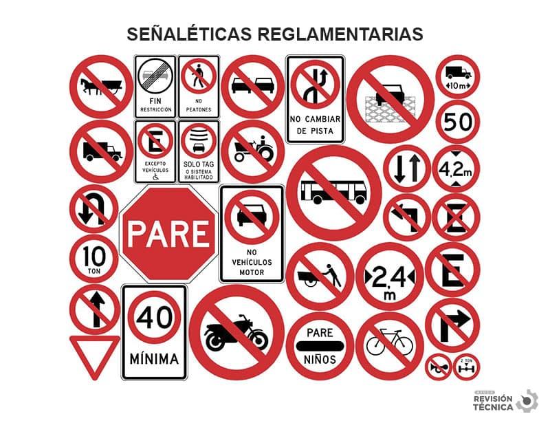 señaleticas reglamentarias chile