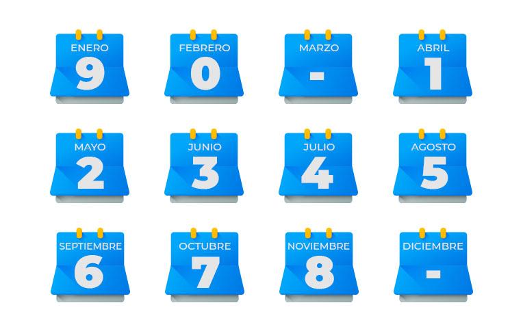 Calendario de revisión técnica 2021