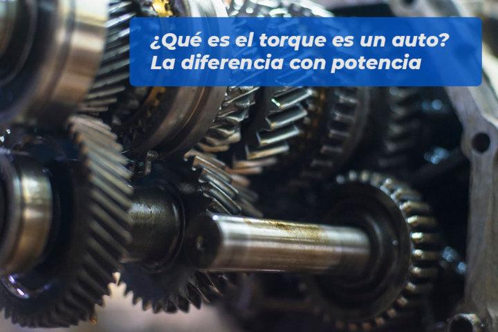 Qué es el torque es un auto-La diferencia con potencia