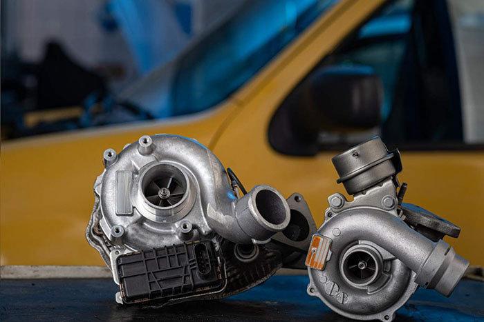 Cuáles son los componentes esenciales para un turbo