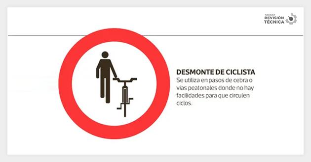 desmonte de ciclistas