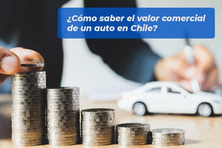 Cómo saber el valor comercial de un auto en Chile